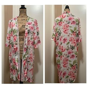 Show Me Your Mumu Garden Of Blooms Brie Robe O/S